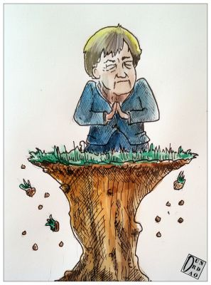 MERKEL ANGEL DOES NOT RECEIVE. YES AGREEMENT FOR THE GERMAN GOVERNMENT