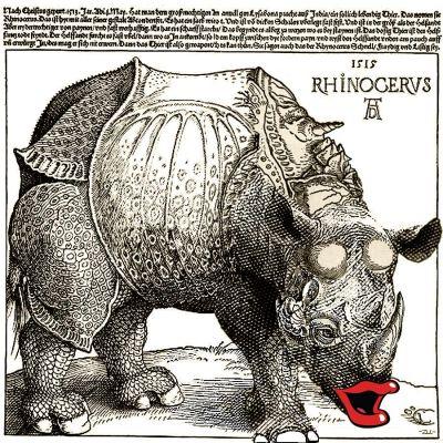 Rhino-kiss