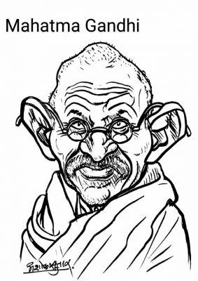 Mahatma Gandhi Mohansas K. Gandhi