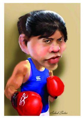 International Boxer MERY KOAM