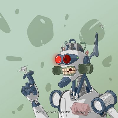 March of Robots 2020 - Day 16 - Smile