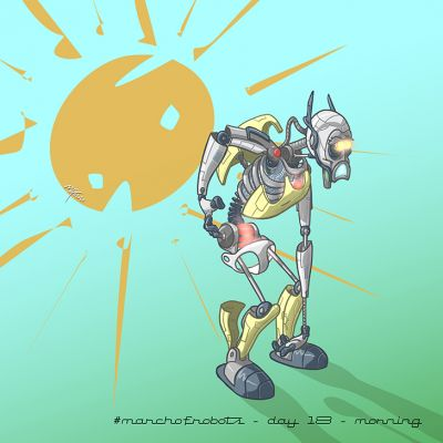 March of Robots 2020 - Day 17 - Morning