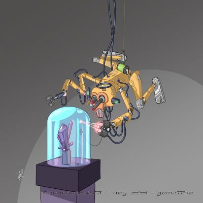 March of Robots 2020 - Day 23 - Gemstone