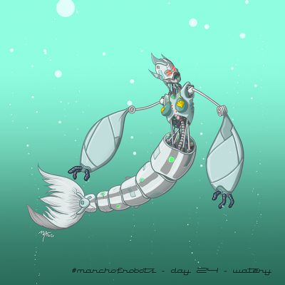 March of Robots 2020 - Day 24 - Watery
