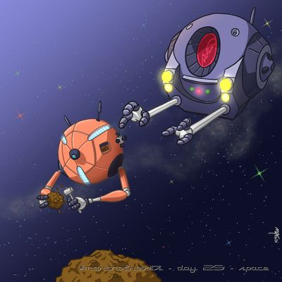 March of Robots 2020 - Day 29 - Space