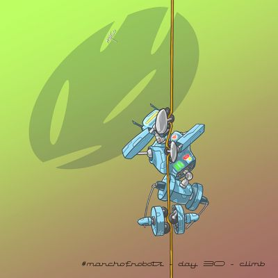 March of Robots 2020 - Day 30 - Climb
