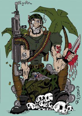 Movie soldier