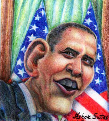 ex president of America Barak  Obama