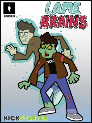 Schmidt & Schmitty the zombie and ghost.